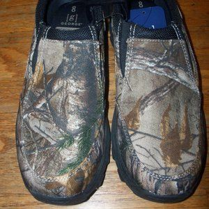 Mens Size 8 Realtree Camouflage Slip On Mule Mud